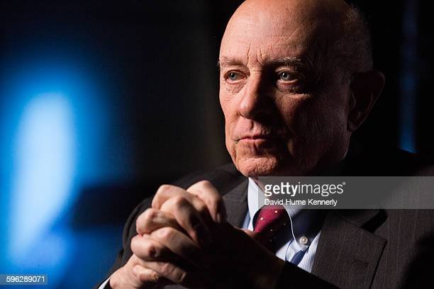 Former Director of Central Intelligence under President Bill Clinton James Woolsey is interviewed for The Spymasters a documentary for CBS/Showtime...
