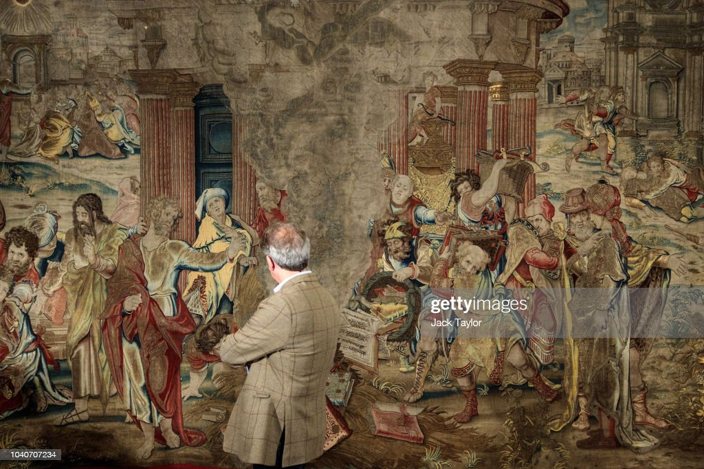 Missing Tapestry Commissioned By Henry VIII Recently Discovered In Spain