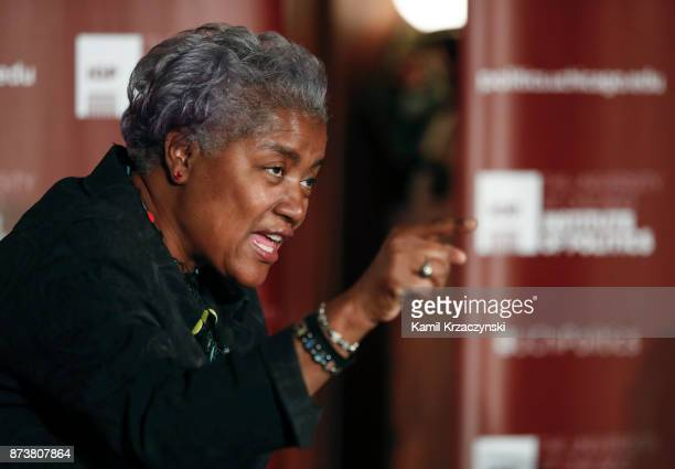 Former DNC Chair Donna Brazile speaks at The University of Chicago on November 13 2017 in Chicago Illinois Brazile recently released her book 'Hacks...