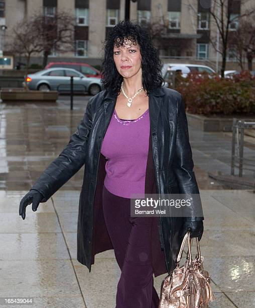 Former dominatrix Sandra Rinella enters court at 361 University today The Crown has stayed the murder conspiracy charges against her and...