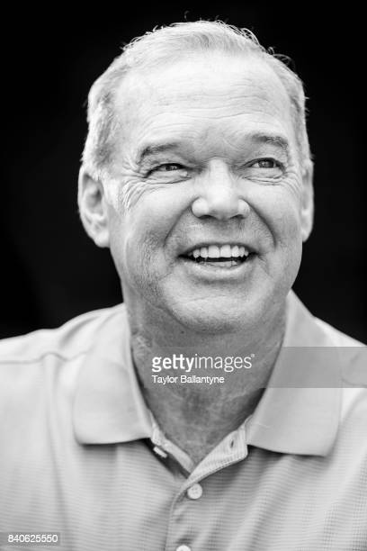 Former driver Al Unser Jr. Is photographed for Sports Illustrated on August 20, 2017 at Pocono Raceway, Verizon IndyCar Series, at Long Pond,...