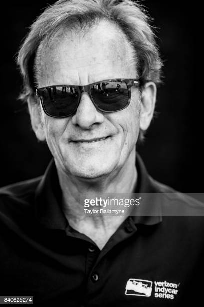 Former driver Arie Luyendyk is photographed for Sports Illustrated on August 19, 2017 at Pocono Raceway, Verizon IndyCar Series, at Long Pond,...