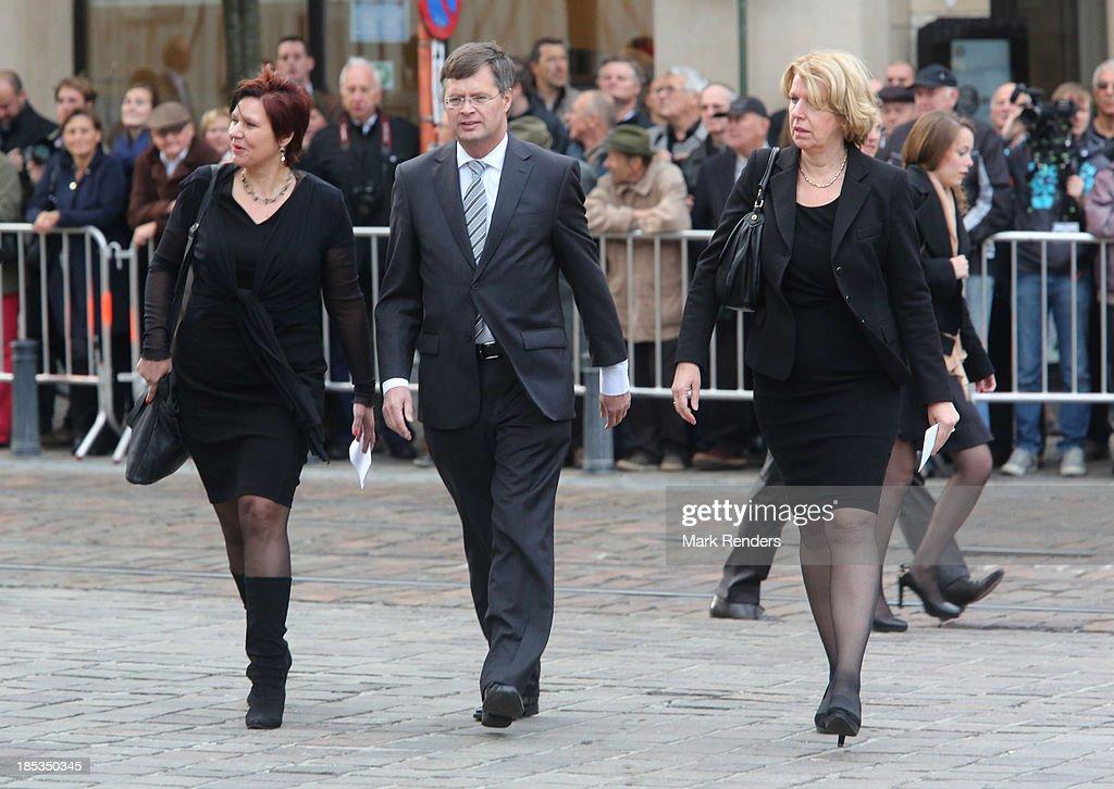 Wilfried Martens Funeral At Sint Baafs Kathedraal