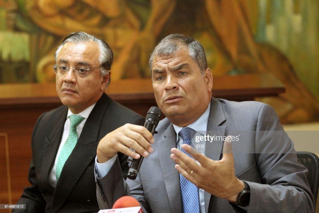 ECUADOR-CORREA-JUSTICE : News Photo