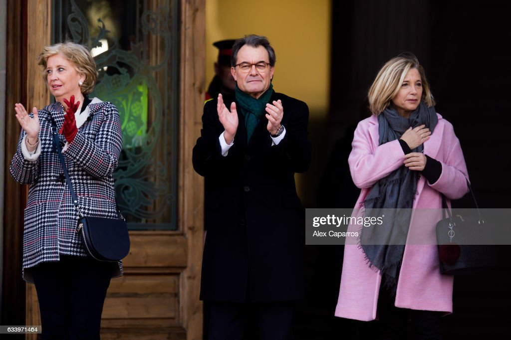 Trial Against Former President of Catalonia Artur Mas : News Photo