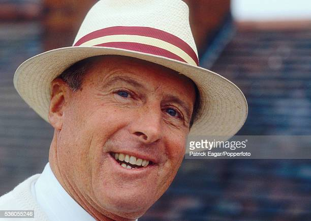 Former England player Geoff Boycott during the West Indies tour of England circa June 1995