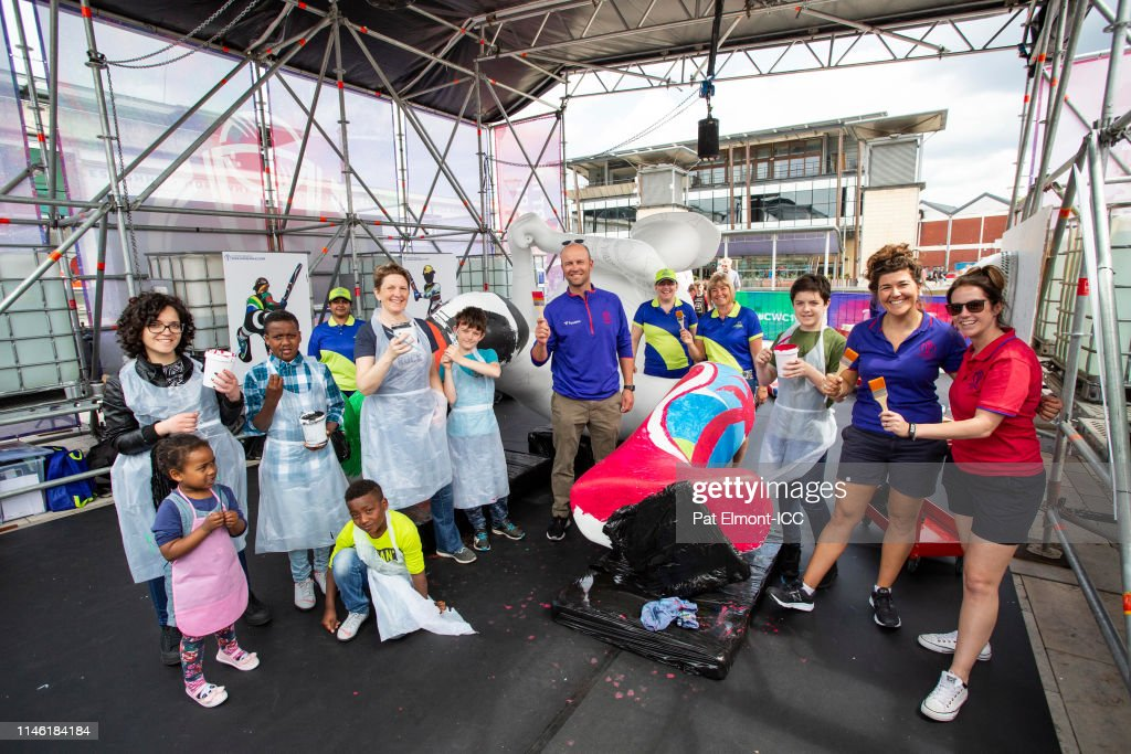 GBR: 'Take Part In Giant Art' – ICC Cricket World Cup 2019