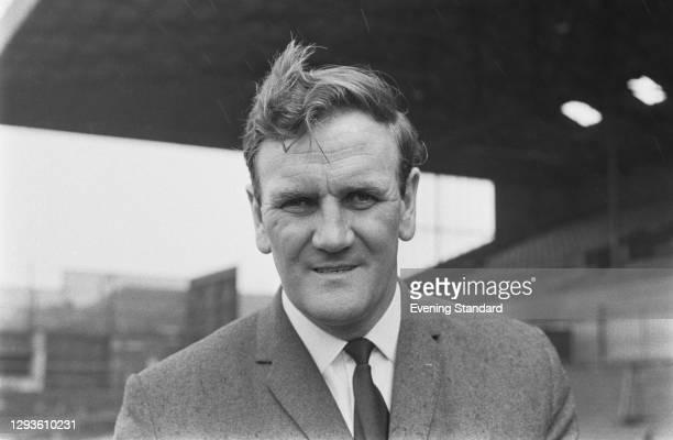Former English footballer Don Revie , manager of Leeds United FC, UK, April 1967.