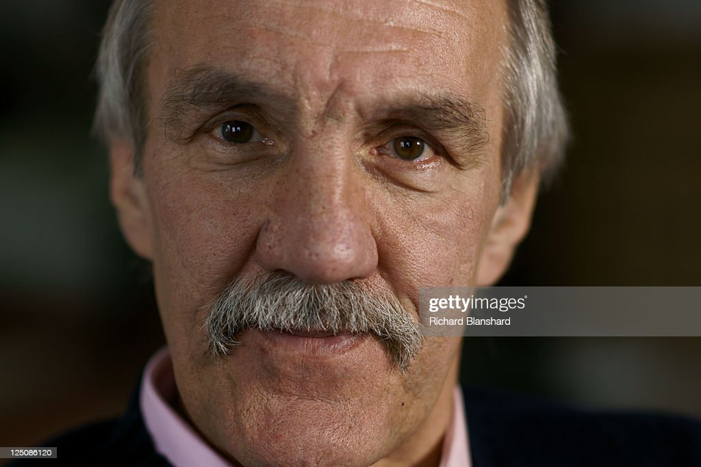 Former English rugby union footballer Roger Uttley, circa 2009. He was on the team during the 1974 British and Irish Lions tour to South Africa.