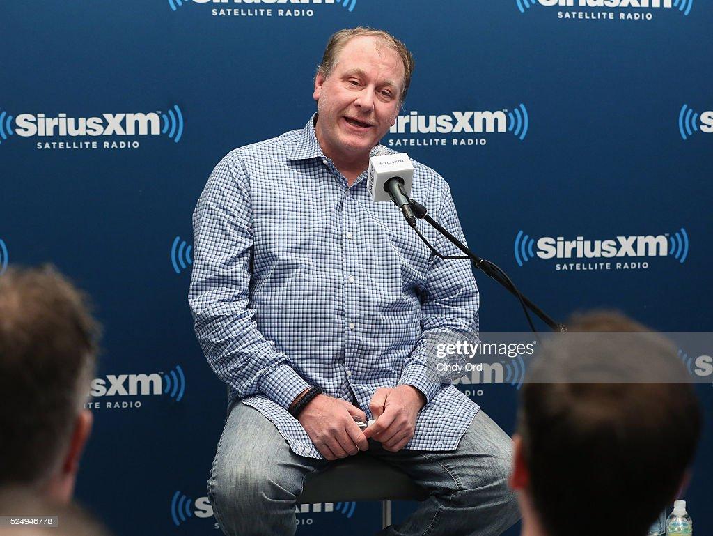 Former ESPN Analyst Curt Schilling Talks About His ESPN Dismissal And Politics With SiriusXM Patriot Host Stephen K. Bannon : News Photo