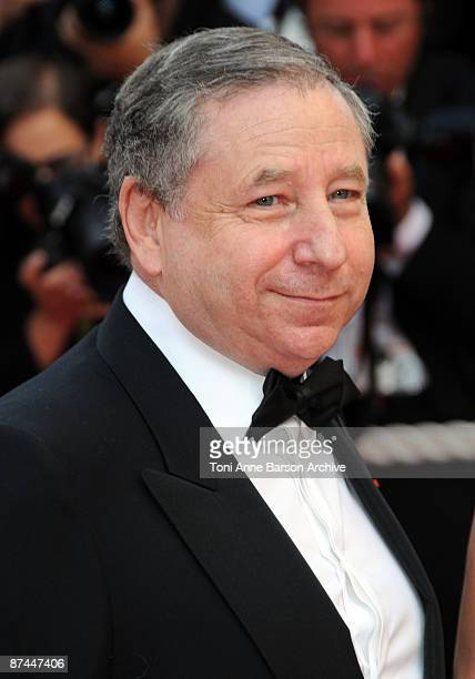 Former Executive Director of Scuderia Ferrari Jean Todt attends the Vengence Premiere at the Grand Theatre Lumiere during the 62nd Annual Cannes Film...