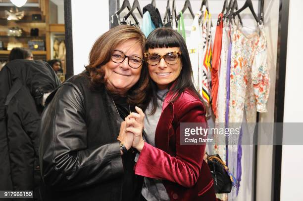 Former executive director of the Council of Fashion Designers of America Fern Mallis and fashion designer Norma Kamali attend Vintage For The Future...
