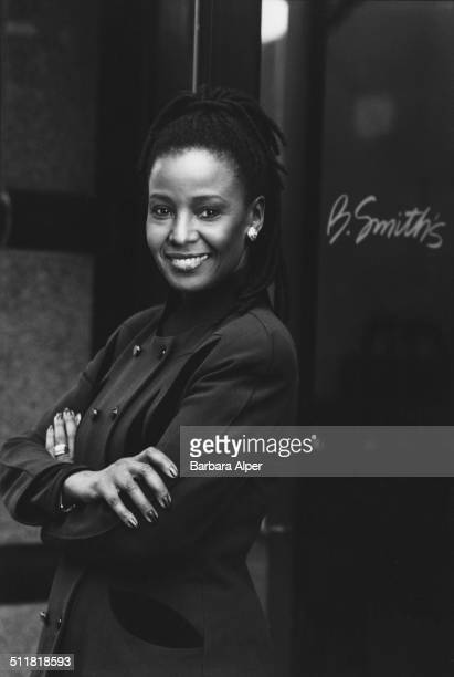 Former fashion model and current restaurateur B Smith at her restaurant in New York City 20th February 2001