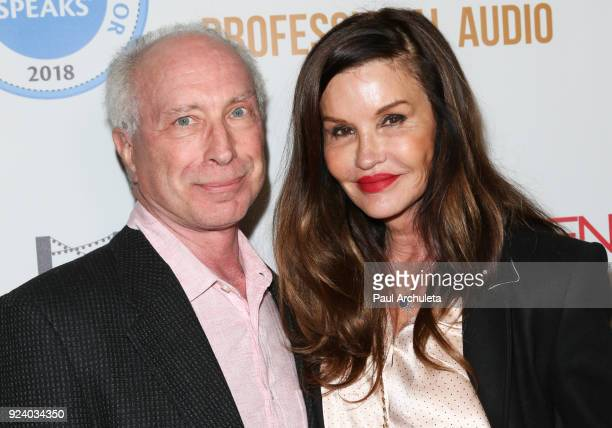 Former Fashion Model Janice Dickinson and her Husband Gerner Robert attend the Gifting Your Spectrum gala benefiting Autism Speaks on February 24...