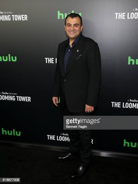 Former FBI agent Ali Soufan attends Hulu's The Looming Tower series premiere at Paris Theatre on February 15 2018 in New York City