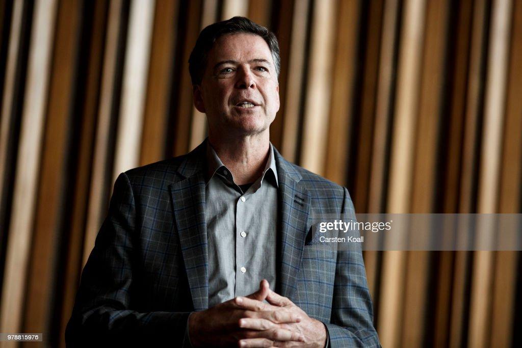 Former FBI Director Comey Speaks In Berlin : News Photo