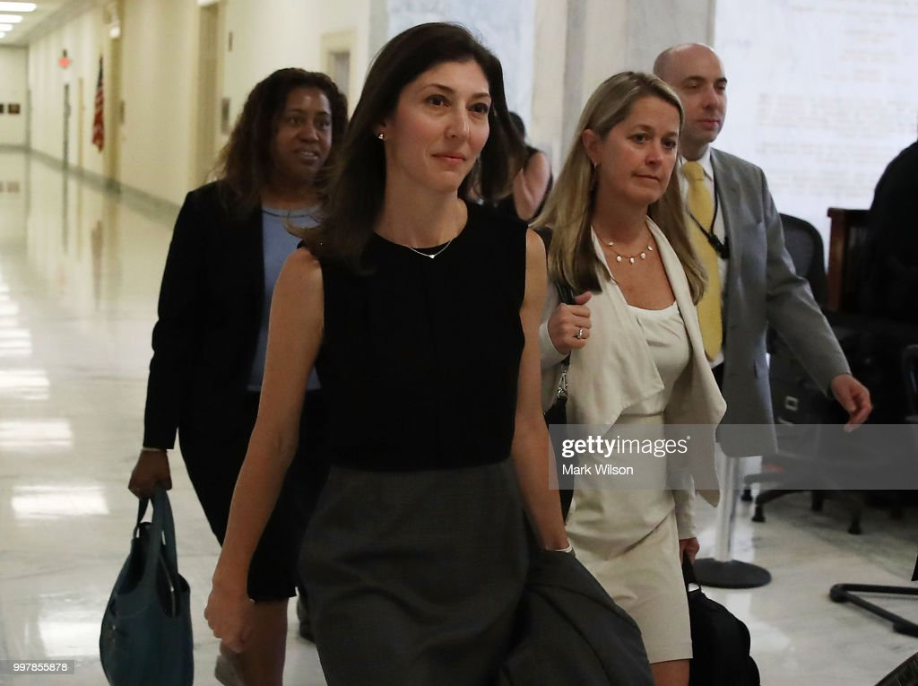 Former FBI Lawyer Lisa Page Interviewed By House Judiciary Committee : News Photo