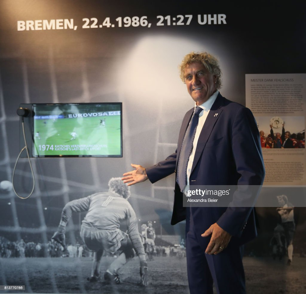 FC Bayern Muenchen Special Exhibition 'Moments' Opening Ceremony