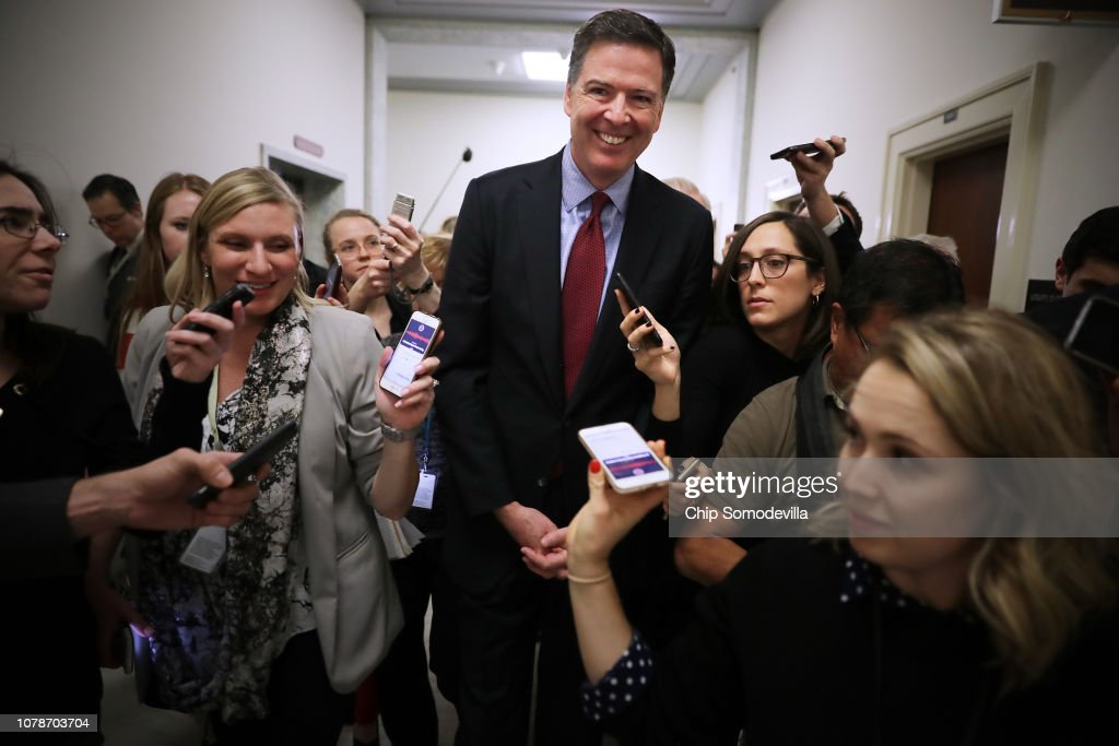 Former FBI Director James Comey Testifies Before House Judiciary Committee : News Photo