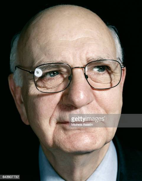 Former Federal Reserve Chairman Paul Volcker is photographed at a portrait session on December 6 2001 in New York City