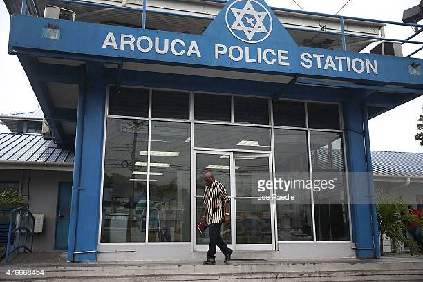 Former Fifa vice-president Jack Warner walks out of the Arouca Police Station after checking in as required under his bail agreement on June 11, 2015...