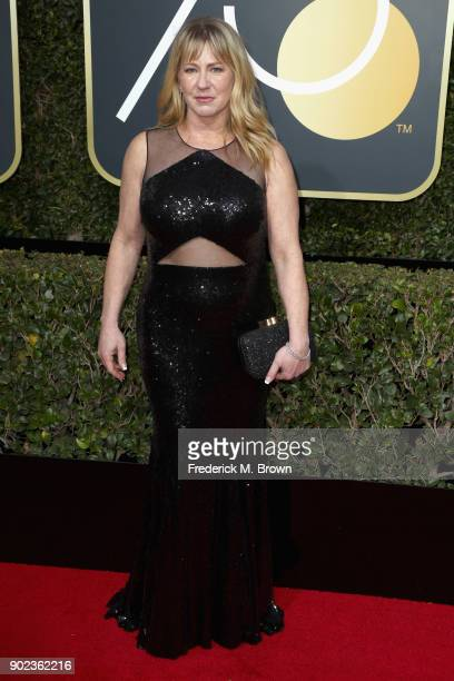 Former figure skater Tonya Harding attends The 75th Annual Golden Globe Awards at The Beverly Hilton Hotel on January 7, 2018 in Beverly Hills,...