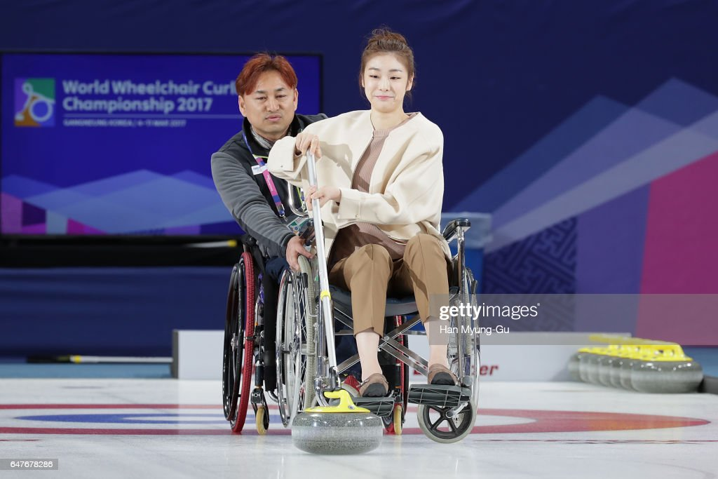 PyeongChang 2018 Paralympic Day And Opening of the World Wheelchair Curling Championship 2017