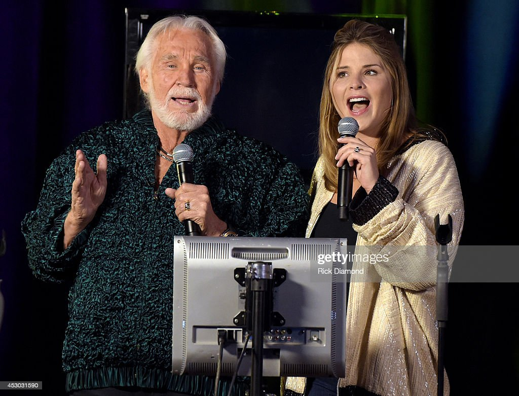 """Kenny Rogers Visits NBC's """"Today"""" : News Photo"""