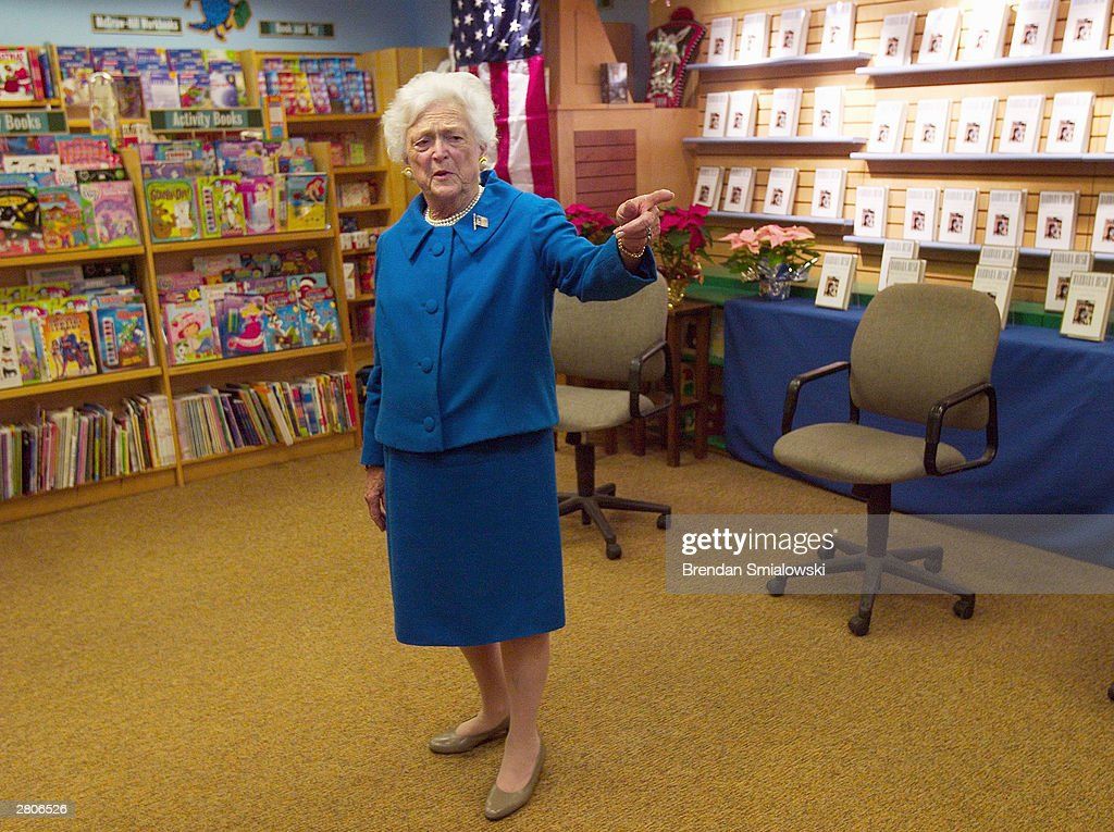 Barbara Bush Releases New Book