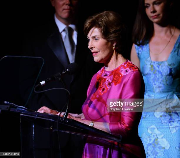 Former First Lady Laura Bush attends 2012 A Night Of Broadway Stars at Frederick P Rose Hall on June 12 2012 in New York City