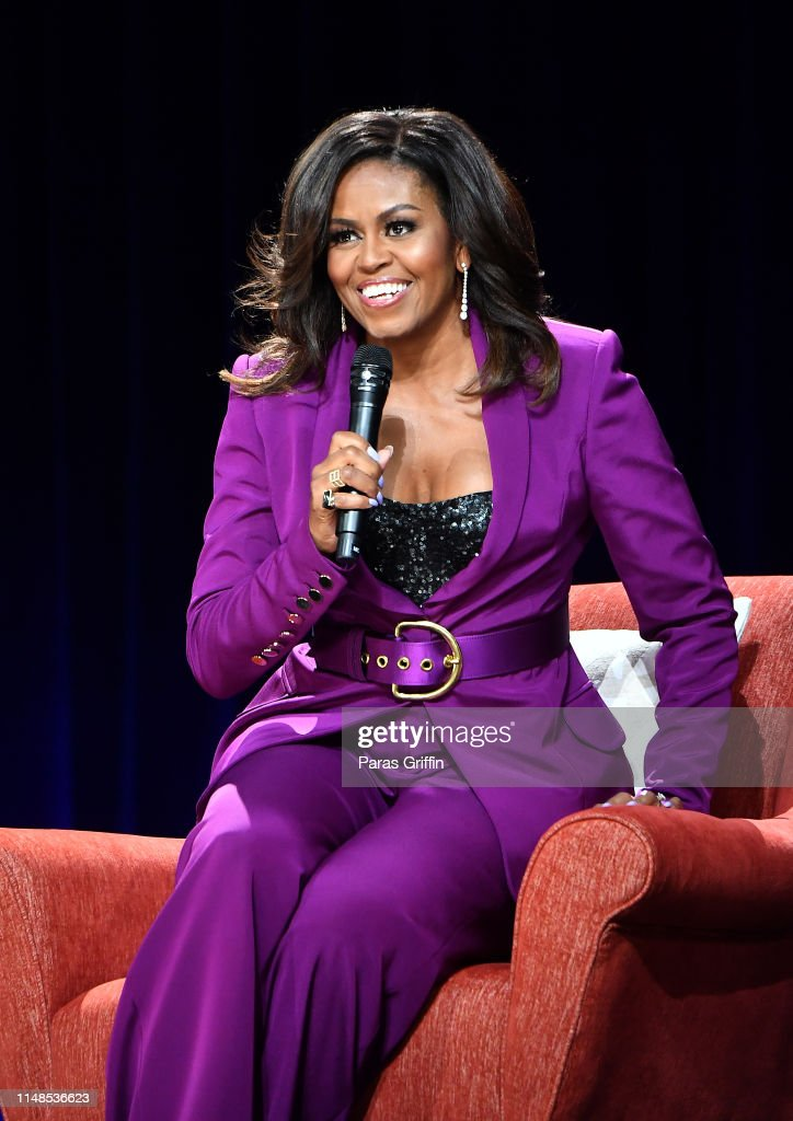 Becoming: An Intimate Conversation with Michelle Obama : Foto jornalística