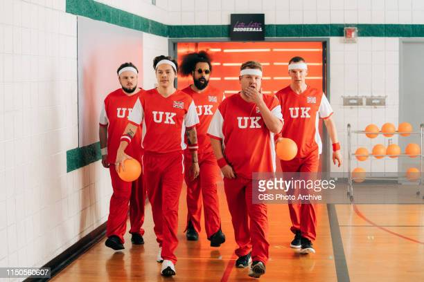 Former First Lady Michelle Obama Leads Team USA against James Corden's Team UK in an epic USA vs UK Dodgeball Game, featuring Melissa McCarthy,...
