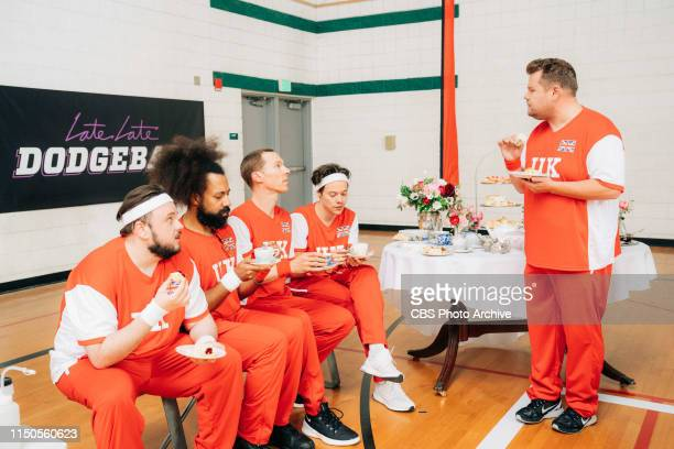 Former First Lady Michelle Obama Leads Team USA against James Corden's Team UK in an epic USA vs UK Dodgeball Game featuring Melissa McCarthy...