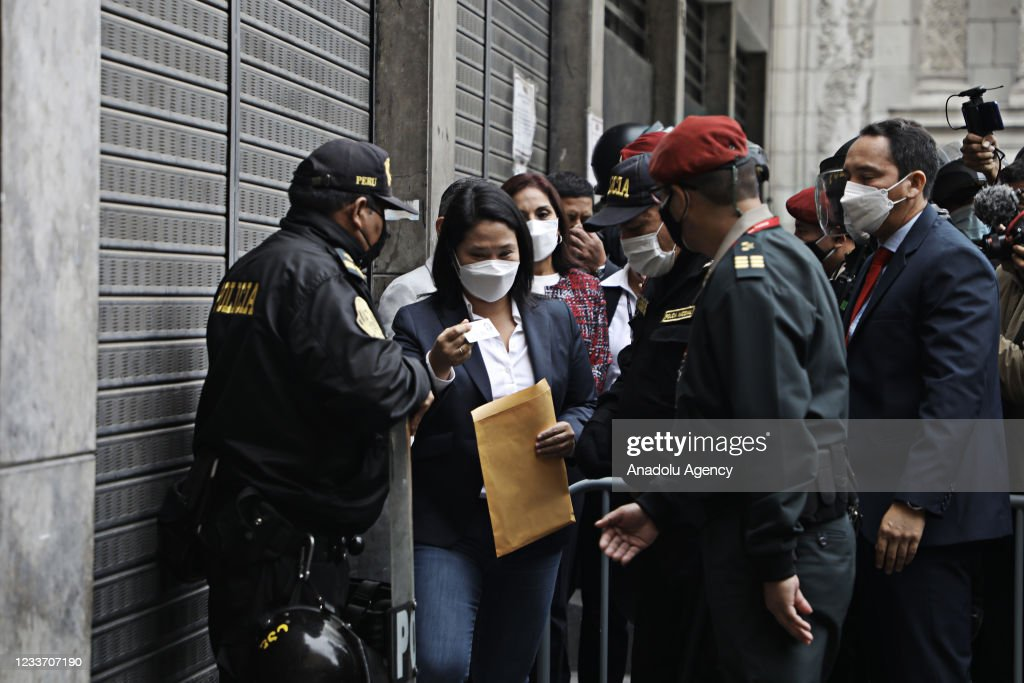 Former First Lady of Peru, Keiko Fujimori... : News Photo