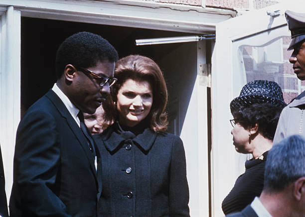 Jackie Kennedy At Mlk Funeral Pictures Getty Images