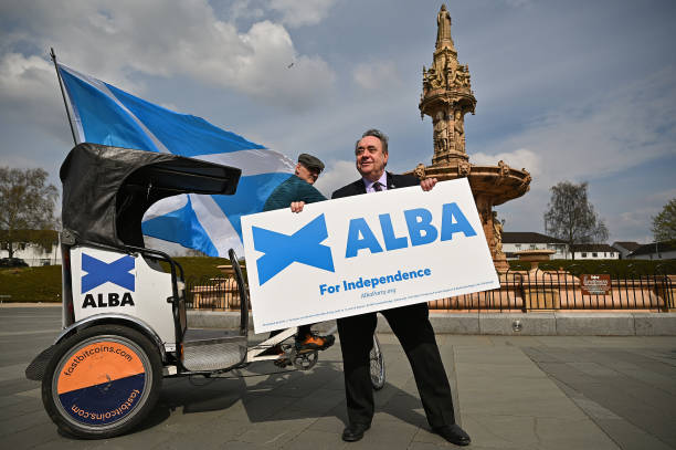 GBR: Alex Salmond And Alba Candidates Announce New Policies