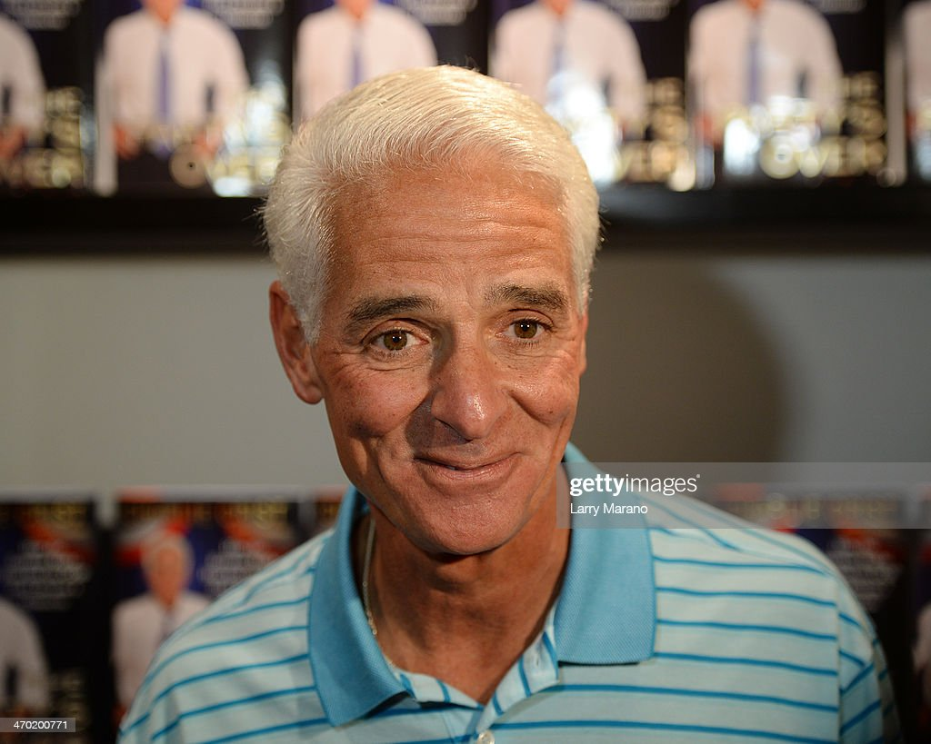Charlie Crist Book Signing At Books And Books