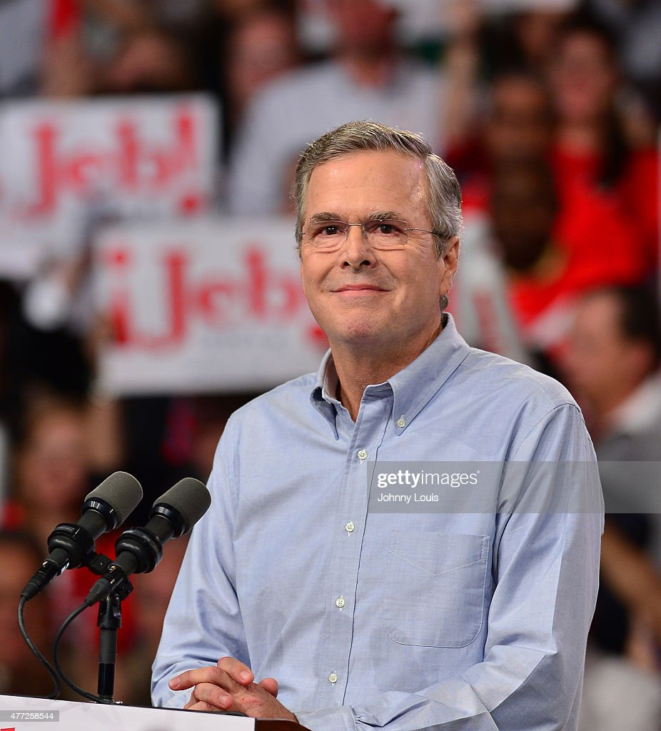 Jeb Bush Announcement In Miami