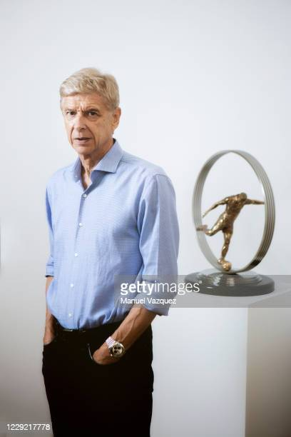 Former football manager and player Arsene Wenger is photographed for Liberation on October 9, 2020 in London, England.