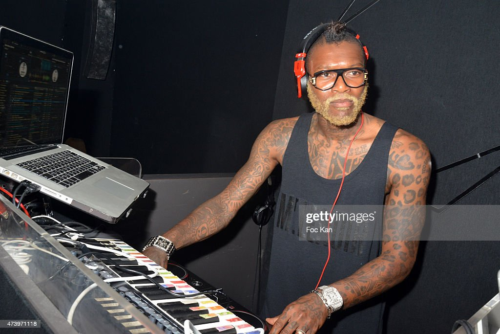 Djibril Cisse DJ Party At The Calavados  : Day 5 - The 68th Annual Cannes Film Festival