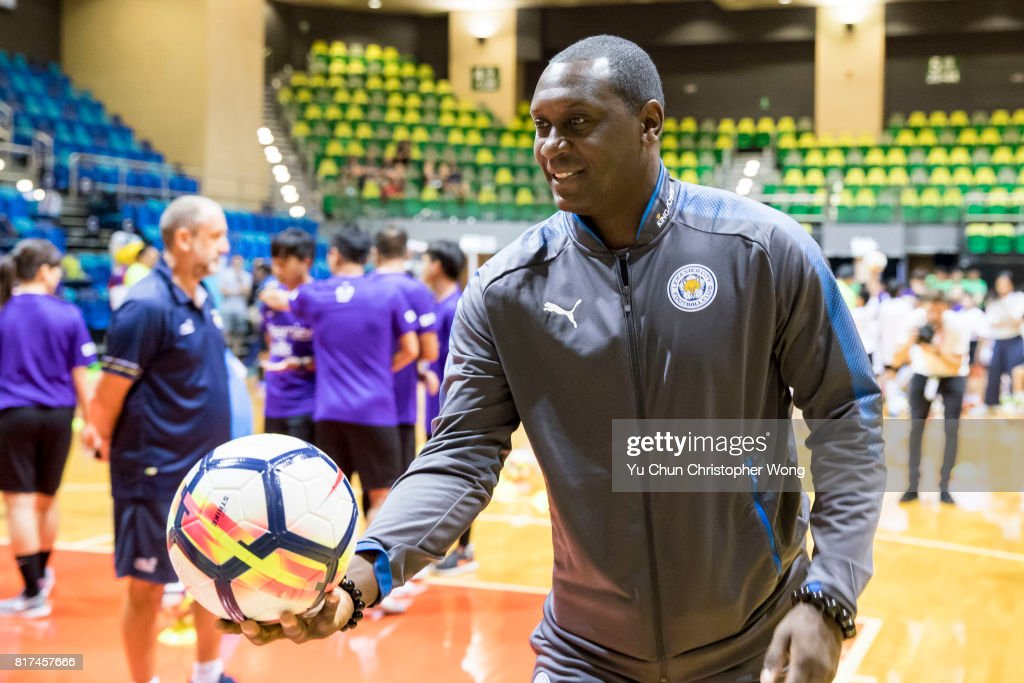 Former football player Emile Heskey attends the Premier League Asia Trophy Skills Session at Macpherson Stadium on July 18, 2017 in Hong Kong, Hong Kong.