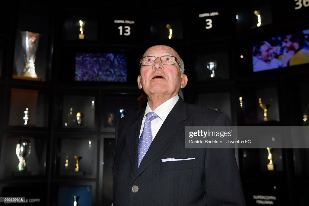 Former football player Luis del Sol is seen during his visit at Juventus Museum on May 16, 2018 in Turin, Italy.