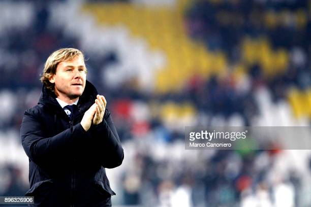 Former football player Pavel Nedved of Juventus FC before the Tim Cup football match between Juventus FC and Genoa Cfc Juventus Fc wins 20 over Genoa...