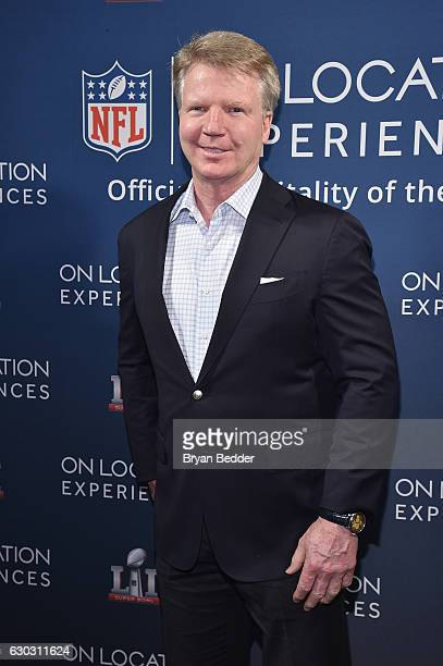 Former football player Phil Simms attends On Location Experiences' 51 Days To Super Bowl LI Celebration at STK Rooftop on December 14 2016 in New...