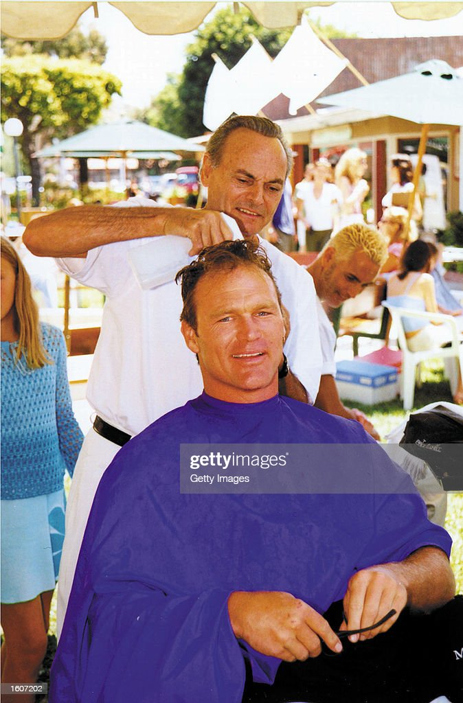 Former Football Player Turned Actor Brian Bosworth Receives A