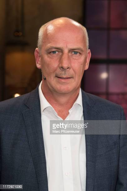 Former football professional Mario Basler attends the Koelner Treff TV Show at the WDR Studio on October 1, 2019 in Cologne, Germany.