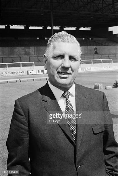 Former footballer Bert Head manager of Crystal Palace FC UK 25th August 1971