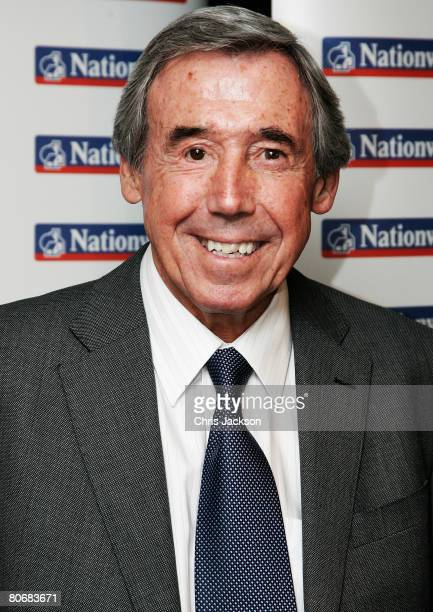 Former footballer Gordon Banks poses for a photograph at the HMV Football Extravaganza to Honour Denis Law at the Hilton Park Lane on April 15 2008...