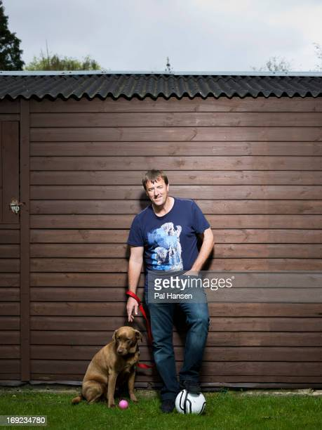 Former footballer Matt Le Tissier is photographed for Football Life magazine on May 22 2012 in Guernsey Guernsey
