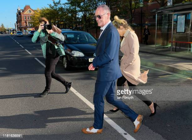 Former footballer Paul Gascoigne leaves Teesside Crown Court after being found not guilty of sexual assault and not guilty of a lesser charge of...